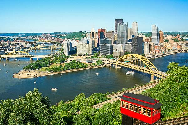 Visit Pittsburgh while staying at Rose Point Park